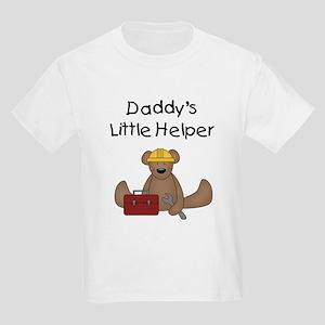Daddy's Little Helper Kids T-Shirt