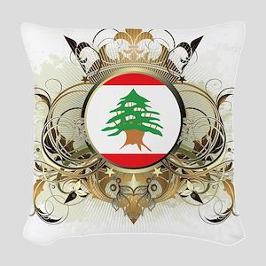 Lebanon Woven Throw Pillow