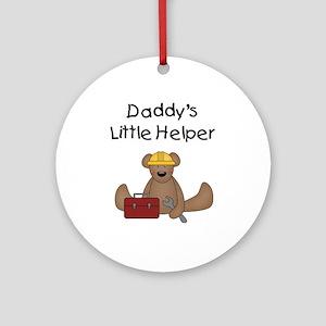 Daddy's Little Helper Ornament (Round)