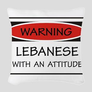 Attitude Lebanese Woven Throw Pillow
