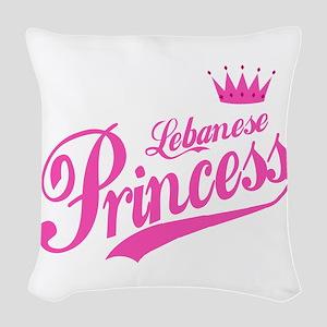 Lebanese Princess Woven Throw Pillow