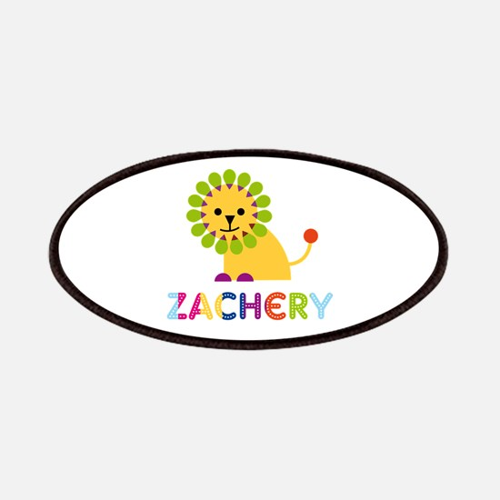 Zachery Loves Lions Patches