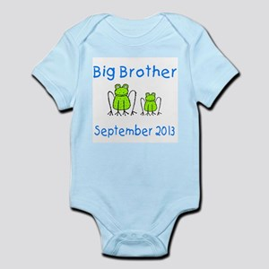 Big Brother Frogs 0913 Infant Bodysuit