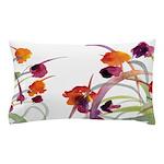 Atom Flowers Pillow Case