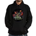 Atom Flowers Hoodie (dark)