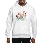 Atom Flowers Hooded Sweatshirt