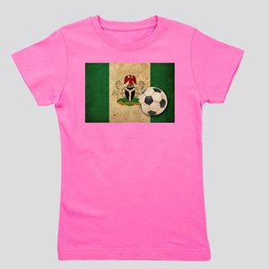 Vintage Nigeria Football Girl's Tee