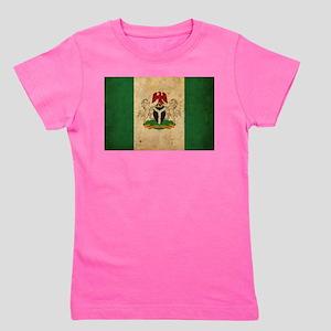 Vintage Nigeria Flag Girl's Tee