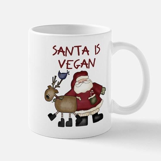 Santa Is Vegan Mug