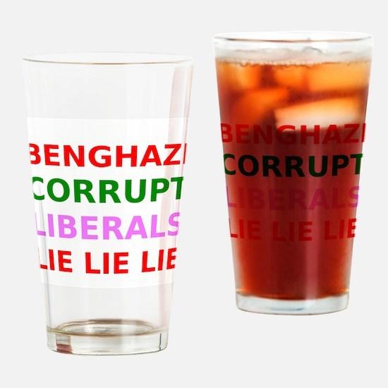 Benghazi Corrupt Liberals Lie Lie Lie Drinking Gla