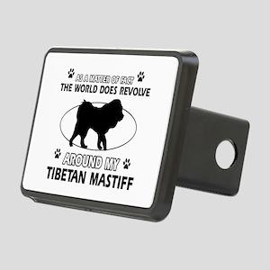 Tibetan Mastiff dog funny designs Rectangular Hitc