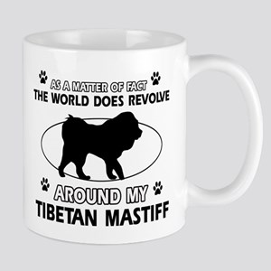 Tibetan Mastiff dog funny designs Mug