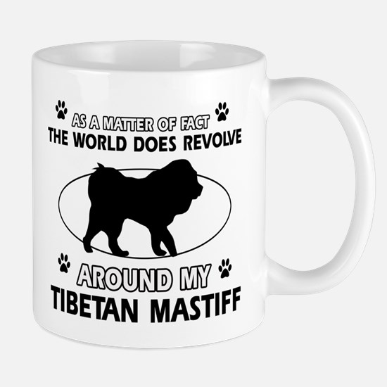 Tibetan Mastiff dog funny designs Mug
