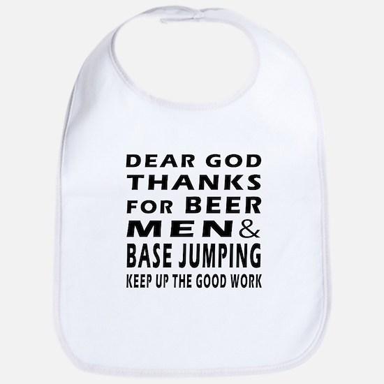 Beer Men and Base Jumping Bib