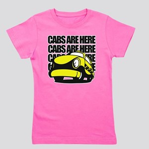 Cabs are here Girl's Tee