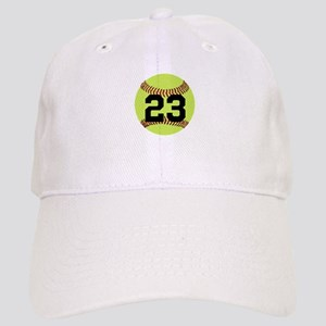 Softball Number Personalized Cap