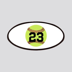Softball Number Personalized Patch