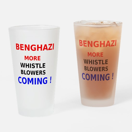 Benghazi More Whistle Blowers Coming Drinking Glas