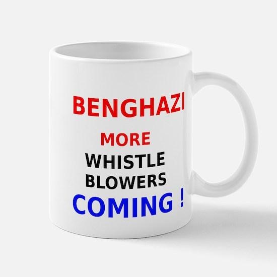 Benghazi More Whistle Blowers Coming Mug