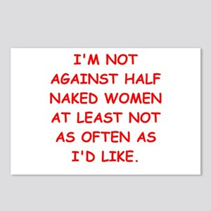 naked women Postcards (Package of 8)