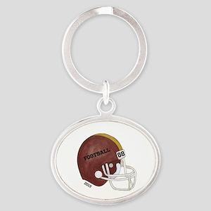 Personalized Football Helmet Keychains