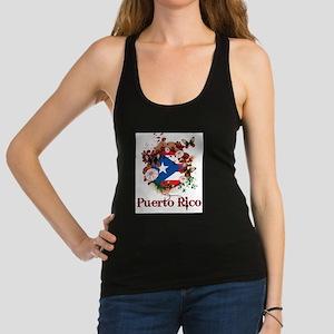 Butterfly Puerto Rico Racerback Tank Top