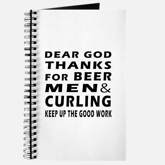 Beer Men and Curling Journal