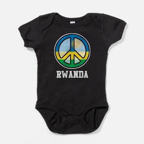 Peace In Rwanda Baby Bodysuit