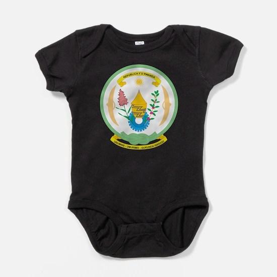 Rwanda Coat Of Arms Baby Bodysuit