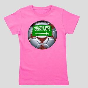 Football Saudi Arabia Girl's Tee