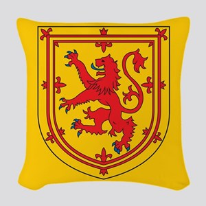 Scotland Emblem Woven Throw Pillow