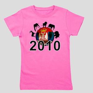 Serbia World Cup 2010 Girl's Tee