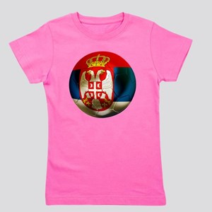 Serbia Football Girl's Tee