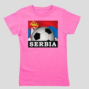 Football Serbia Girl's Tee