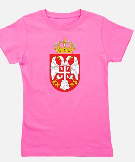 Serbia Coat Of Arms Girl's Tee