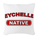 Seychelles Native Woven Throw Pillow