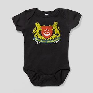 Singapore Coat Of Arms Baby Bodysuit