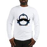 Mustache Penguin Trend Long Sleeve T-Shirt