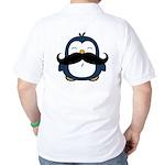Mustache Penguin Trend Golf Shirt