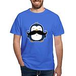 Mustache Penguin Trend Dark T-Shirt