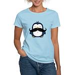 Mustache Penguin Trend Women's Light T-Shirt