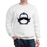Mustache Penguin Trend Sweatshirt