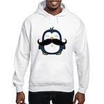 Mustache Penguin Trend Hooded Sweatshirt
