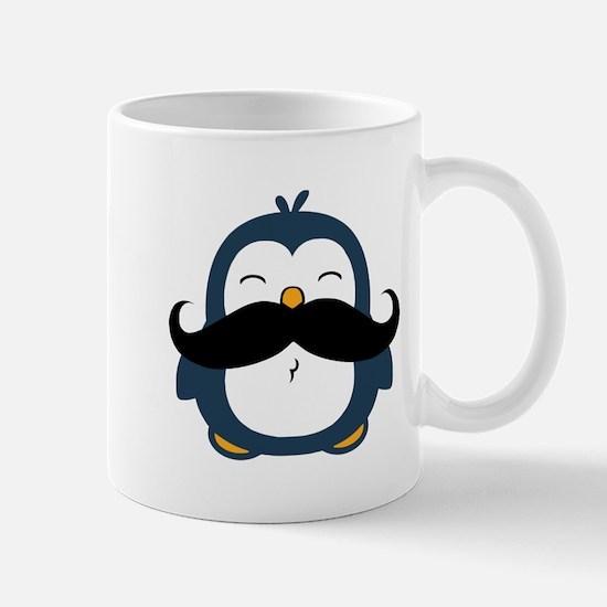 Mustache Penguin Trend Mug