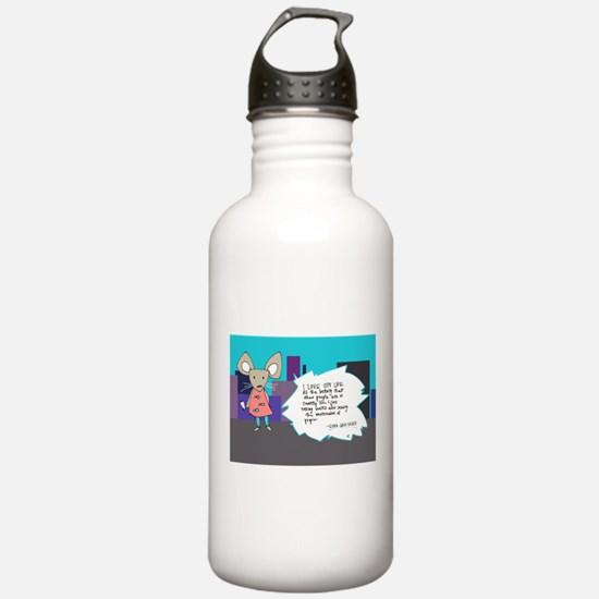 City Mouse Water Bottle