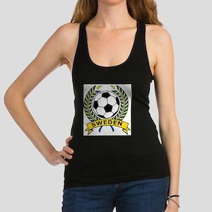 Soccer Sweden Racerback Tank Top