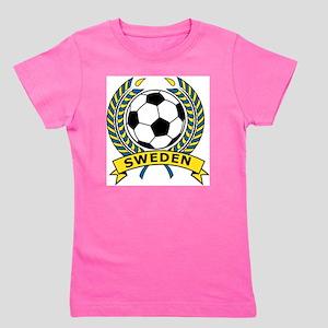 Soccer Sweden Girl's Tee