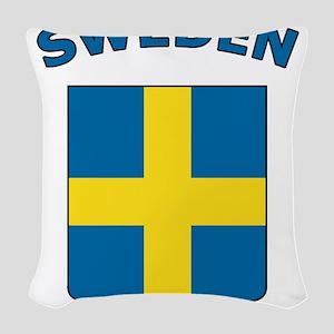 Sweden Woven Throw Pillow
