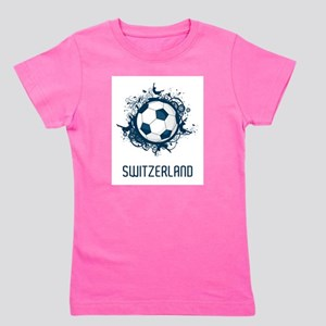 Switzerland Football Girl's Tee