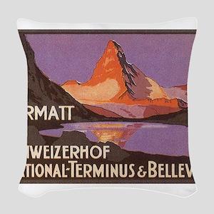 Zermatt Woven Throw Pillow